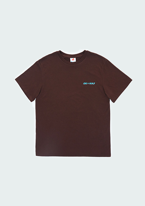 PINK BUNKER S/T-SHIRT / BROWN